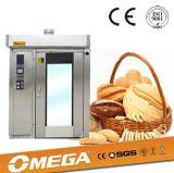 Печь выпечки французского хлеба 32 подносов многофункциональная роторная с CE и ISO
