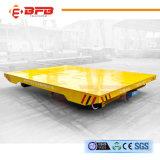 Modificar la carretilla eléctrica del carril para requisitos particulares en la línea de pintura para el cargo pesado del transporte