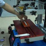 슬리퍼를 위한 소형 평상형 트레일러 스크린 인쇄 기계
