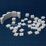 92% Alumina Liner mosaico da telha cerâmica com alta resistência ao desgaste