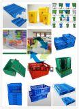 S tapent les cadres en plastique compressibles de récipients d'entreposage de distribution