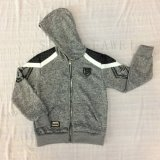 Vlies-Jungen-Entwurfs-Mantel-Kleidung mit Haube im Kind-Sport kleidet Sq-6450