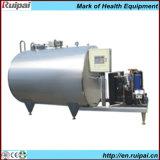 El tanque horizontal o vertical del enfriamiento de la leche