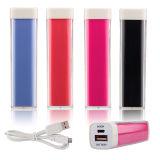 côté portatif de pouvoir du rouge à lievres 2600mAh pour le téléphone mobile avec la capacité totale