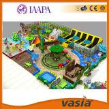 Vente bon marché de cour de jeu d'intérieur d'enfants de série de sucrerie de Vasia