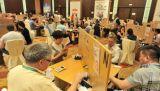 Standardhöhe der brücken-Tabelle-74cm für Sanya-Brücken-Turnier