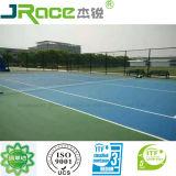 Corte di tennis di gomma di Scuotere-Assorbimento con la superficie di sport del rivestimento dell'unità di elaborazione