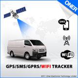 Traqueur du WiFi GPS avec le rail par Time, distance et engine