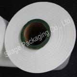 Film plastique blanc opaque, 750mm * 25mm * Film d'emballage agricole 1800mm, film d'ensilage en bale Wrap