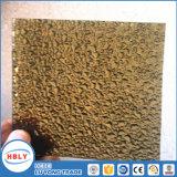 Hoja sólida de la PC del impacto de la gota del tejado incombustible cristalino anti del gránulo