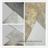 Plancher de marbre imperméable à l'eau de vinyle d'étage de PVC de protection de l'environnement