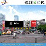 Bildschirmanzeige LED-P10, welche die Anschlagtafel nahtlos bekanntmacht