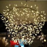Lumière acrylique blanche décorative européenne de lustre de lame