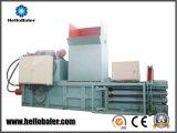 Máquina de empacotamento da imprensa hidráulica de Hellobaler Horizantol para o recicl plástico