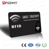 RFID especial que obstrui o cartão da folha de metal para a proteção do roubo