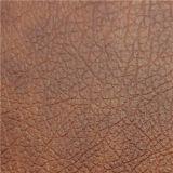 Couro moderno do PVC da cor da melhor venda 2017 para a mobília