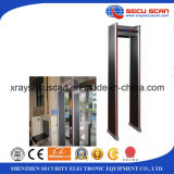 LED Alarm Lights Door Frame Metal Detectors를 가진 도보 Through Metal Detector
