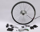 Kit eléctrico de la conversión de la bici del mecanismo impulsor de la rueda delantera del motor con el motor engranado 250W del eje para la venta