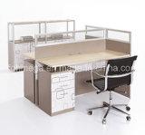 Form-Büro-Zelle-moderner Konstruktionsbüro-Arbeitsplatz (FOH-CXSP28-2A)