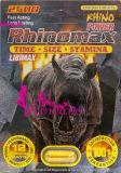 Píldoras masculinas del reforzador del sexo de Libimax Rhinomax