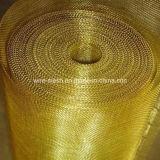 真鍮の金網か銅の正方形の網