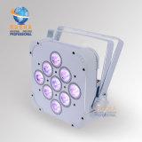 Rasha Panta LED Flat PAR Light met 9LEDs 5in1 Rgbaw LED Slim PAR Light voor Stage Event Party DJ Club