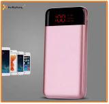 La potencia hecha salir de la lámpara de la capacidad dos verdaderos LED deposita 10000mAh para el teléfono elegante, batería portable del Li-ion