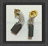 Pequenas escovas de motor elétrico / Ferramentas eléctricas Dongcheng Carbon Brush6X10X16mm com Certificado RoHS / Auto Part Feito de grafite D252