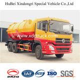 camion d'aspiration des eaux d'égout 15cbm avec la bonne qualité