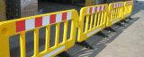 Guardrail do plástico da borda da estrada da segurança de tráfego