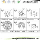 コーティングのアルミニウムプロフィール脱熱器またはアルミニウム建築材料