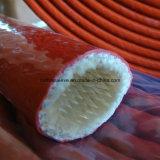 Chemise de protection hydraulique de boyau de fibre de verre enduite en caoutchouc de silicones