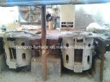 鉄にか鋼鉄または銅使用する1トンの中間周波数の誘導の溶ける炉