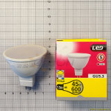 Éclairage d'éclairage LED Spotlight 220V 5W LED Bulb GU10