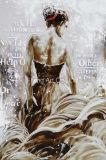 Het Olieverfschilderij van het Portret van de Basis van het aluminium van Reproductie