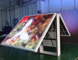 Muestra de LED frontal abierta para publicidad al aire libre con todo color P8, P6, P10