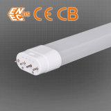 2g11 lampes horizontales blanches fraîches de fiche d'éclairage LED de cliquetis de l'UL SAA de tube alumineux en plastique d'ampoule