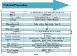 Выбор малого размера 2017 Desktop и машина SMT6000V места