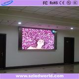 Pared video a todo color fija de interior del alto brillo LED de SMD para hacer publicidad (P3, P4, P5, P6)