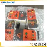 Levage hydraulique de stationnement de véhicule de deux postes à l'extérieur de porte de véhicule de solutions d'intérieur de stationnement