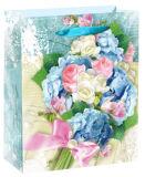 4c напечатало мешок розовой конструкции празднества праздника ежедневный бумажный