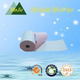 Tipo de papel sin carbono rodillo del papel de la factura de la impresión para la impresora de Neddle