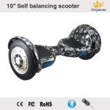 バランスをとるスクーター10inchの電気スクーターLED軽いBluetoothのEスクーター