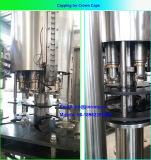 Máquina que capsula de relleno que se lava de la cerveza automática para la botella de cristal