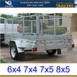6X4 de gegalvaniseerde Aanhangwagen van de Doos