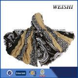 (WV3-3/4) 형식 색깔 15%Wool 85%Visco 남자 스카프