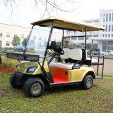 新しいモデル4の乗客のゴルフコースのための電気ゴルフカート