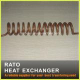 Tubi di rame personalizzati dello scambiatore di calore
