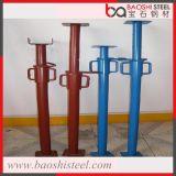 Apoyos de acero resistentes revestidos galvanizada/del polvo del andamio