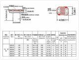 Klein Ohm 4mm van de Grootte 50-100k CDS van de Foto de Lichte Weerstand van de Cel (MJ45 Reeks)